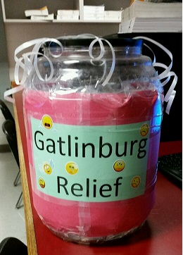FBLA encourages donations for Gatlinburg fires