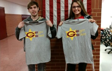 Ross and Coulter portray courage for student of the month