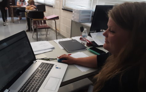 Teachers adapt to new technology