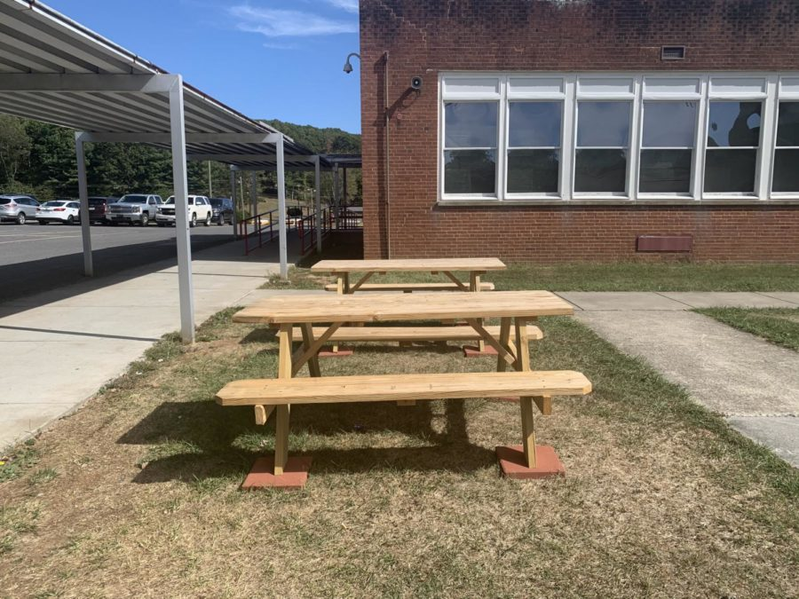 Mystery of picnic tables solved
