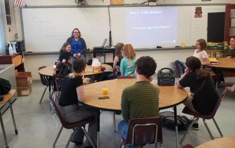 Students embrace reading by attending Book Club