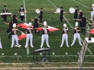 Big G Marching Band competes in first competition of the season