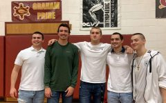 Senior Pep Club leaders dare to shave their heads for Project Grad