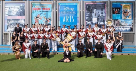 Big G Band performs at Walt Disney World
