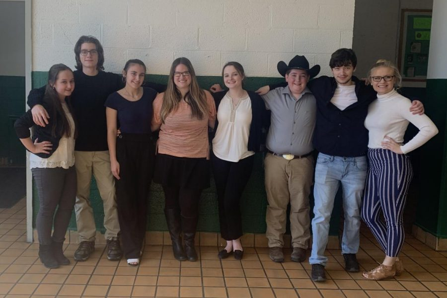Forensics+competes+at+THS
