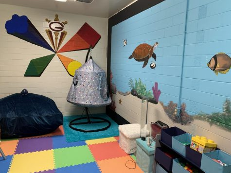 First sensory room in school history created